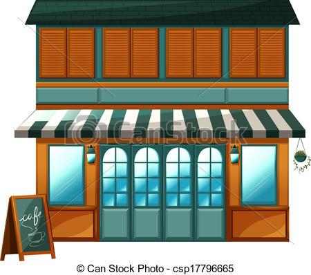 Restaurant clipart cafe building Diner Building Clipart Diner Clipart