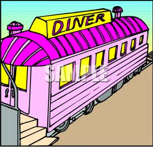 Diner clipart cartoon Of Converted Clipart a a