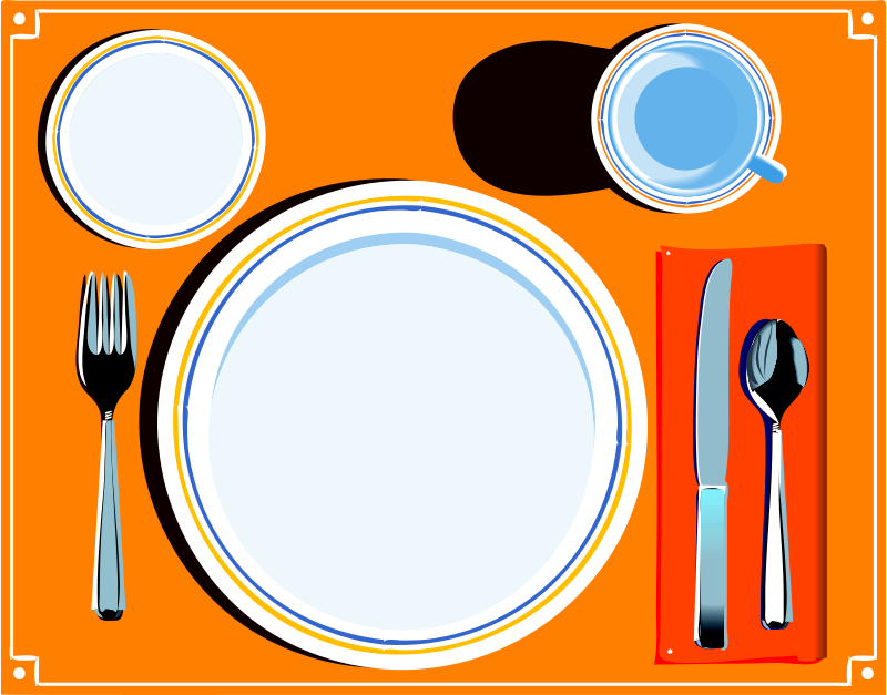 Setting clipart dinner Clip Free Art on cliparts