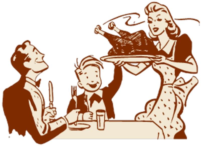 Roast clipart diner Clipart dinner%20table%20clipart Serve Panda Free