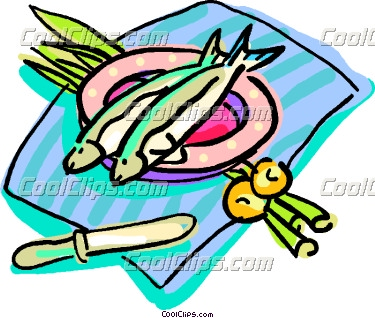 Tuna clipart fish dinner #1