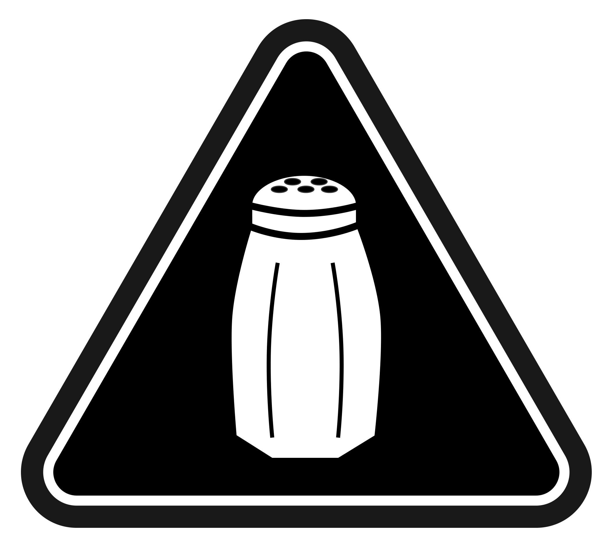 Salt clipart bag salt And Warning Labels NYC Shake