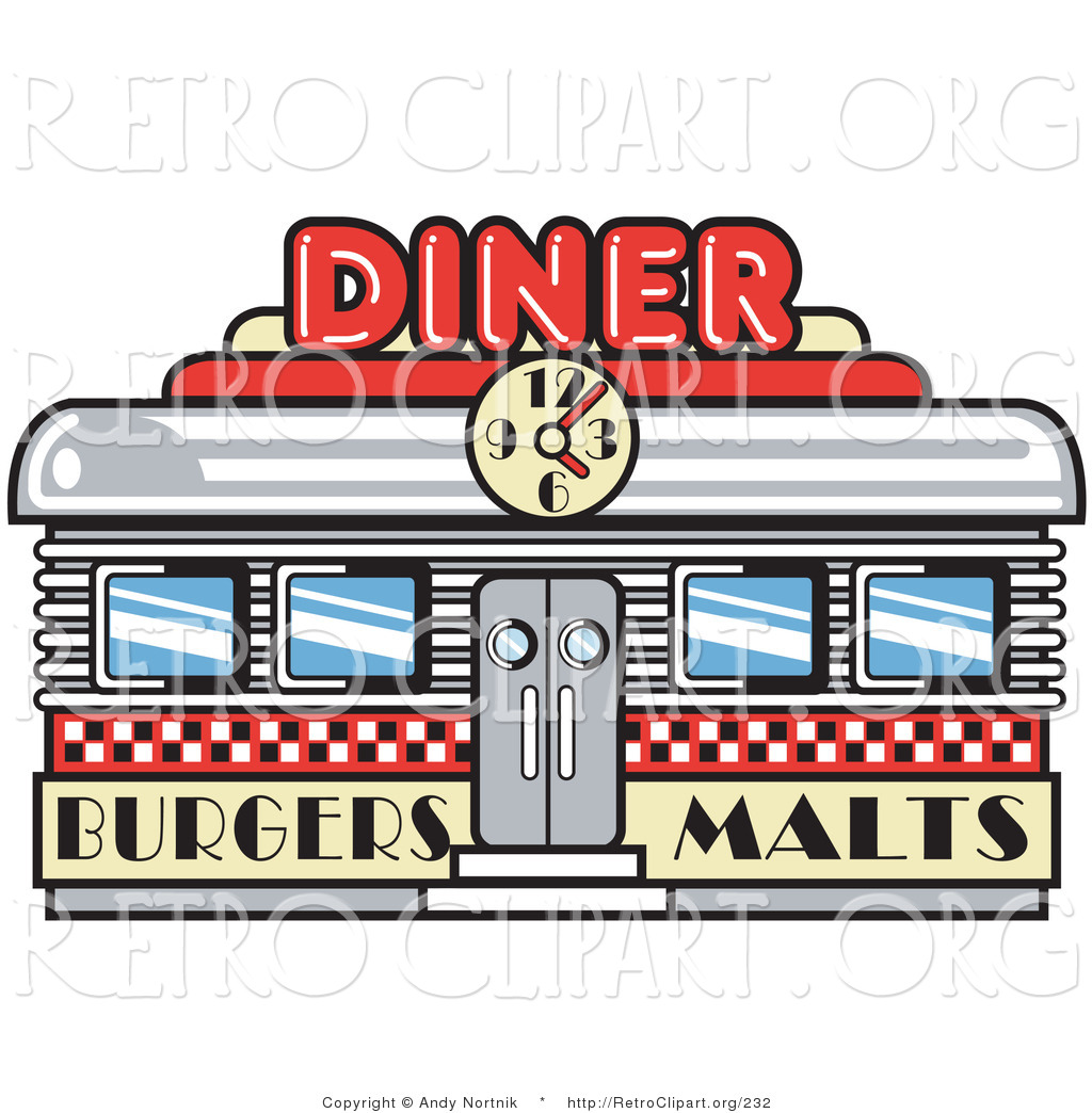 Building clipart old fashioned Diner Building Clipart Images Panda
