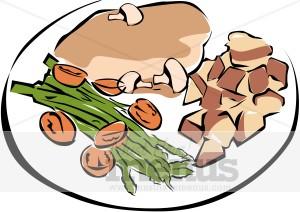 Roast clipart diner Healthy Healthy Dinner Dinner Clipart