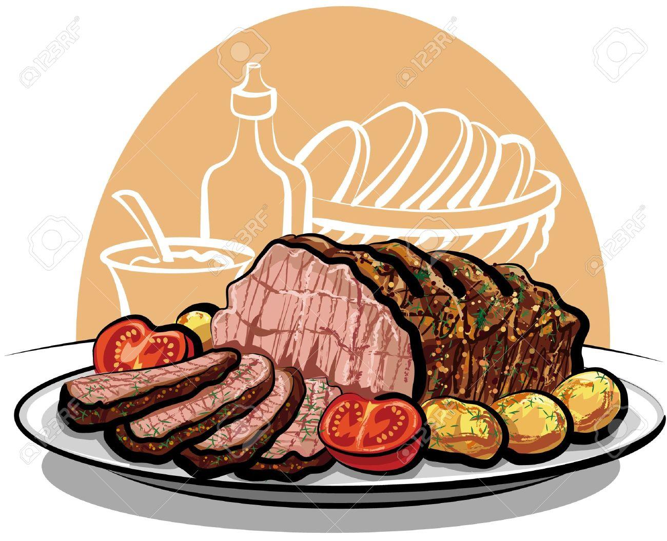 Roast clipart roast beef #2