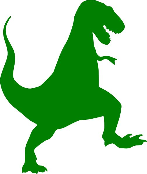 Dinosaur clipart Clipartix 2 Free the silhouette