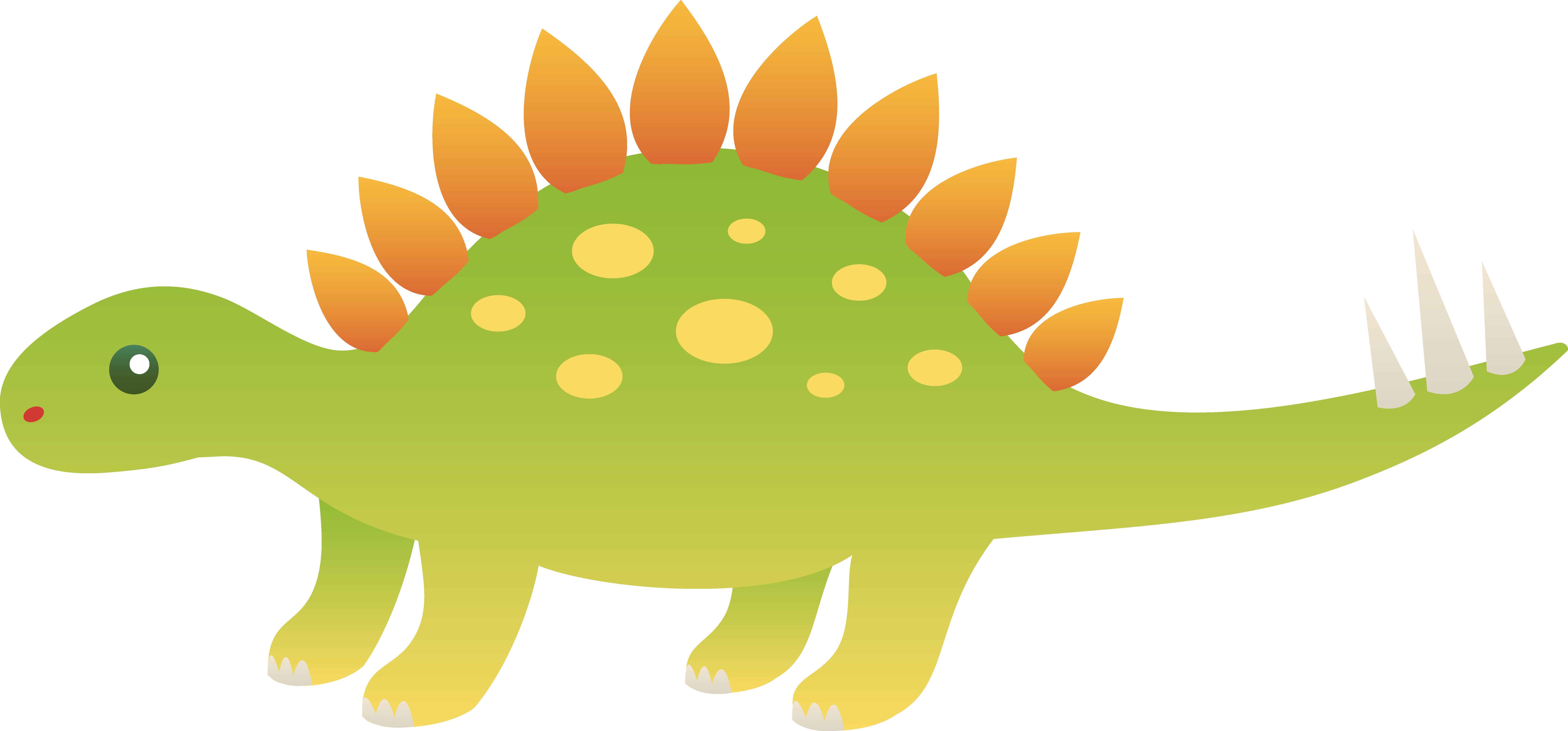 Stegosaurus clipart cute Com Image free dinosaur PNG