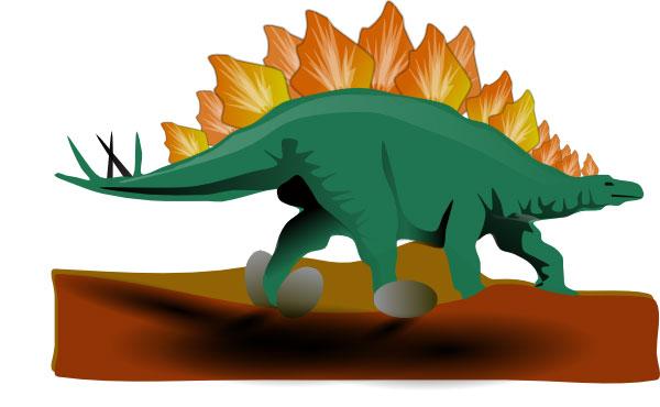 Stegosaurus clipart dinasour Dinosaur picture a was Art