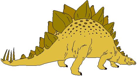 Stegosaurus clipart dinasour 62 Clipart Clipart art Fans