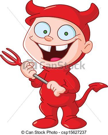 Dioblo clipart Devil kid Clip 206 Smiling