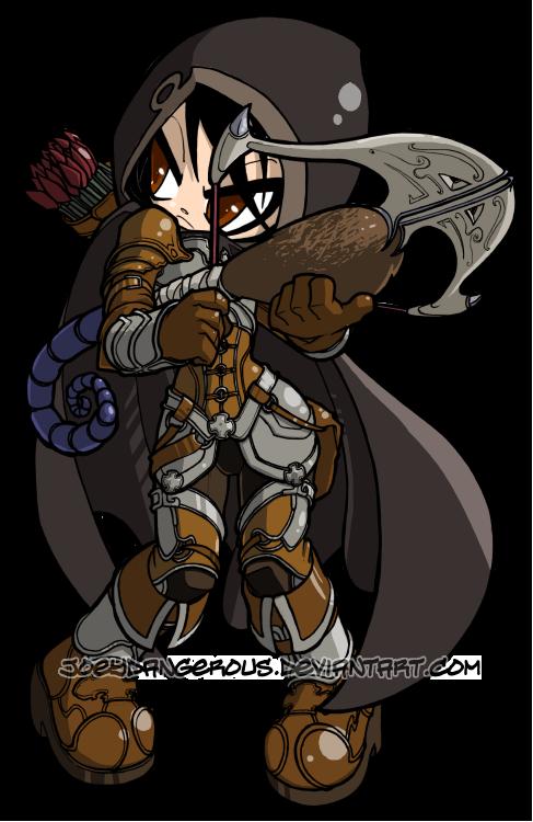 Dioblo clipart cute demon On Demon Diablo 3 ~JoeyDangerous