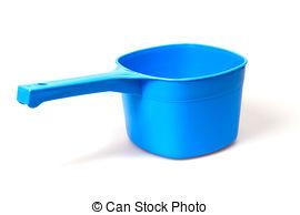 Dipper clipart Scoop dipper; water water Stock