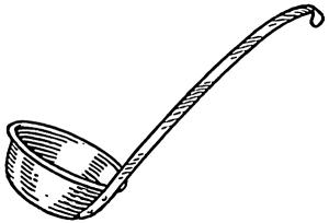 Dipper clipart Clip Ladle Or Art Dipper