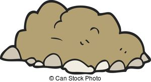 Mud clipart dirt pile #2