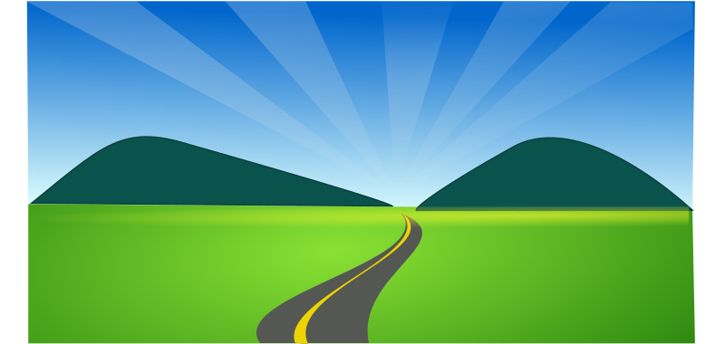 Dirt Road clipart IMAGE (PNG) Clipart side country
