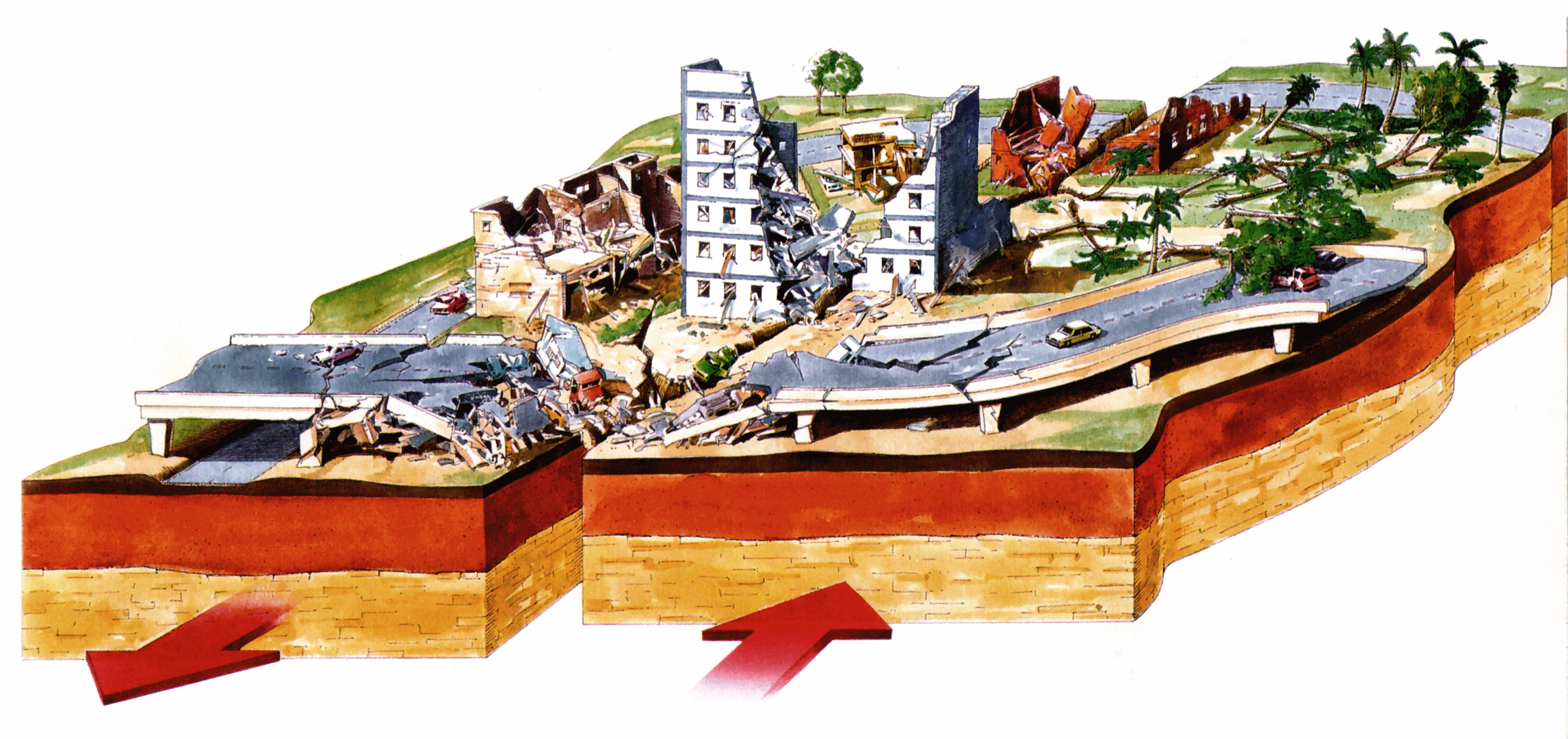 Disaster clipart earthquake damage Collection Earthquakes earthquakes Free clipart