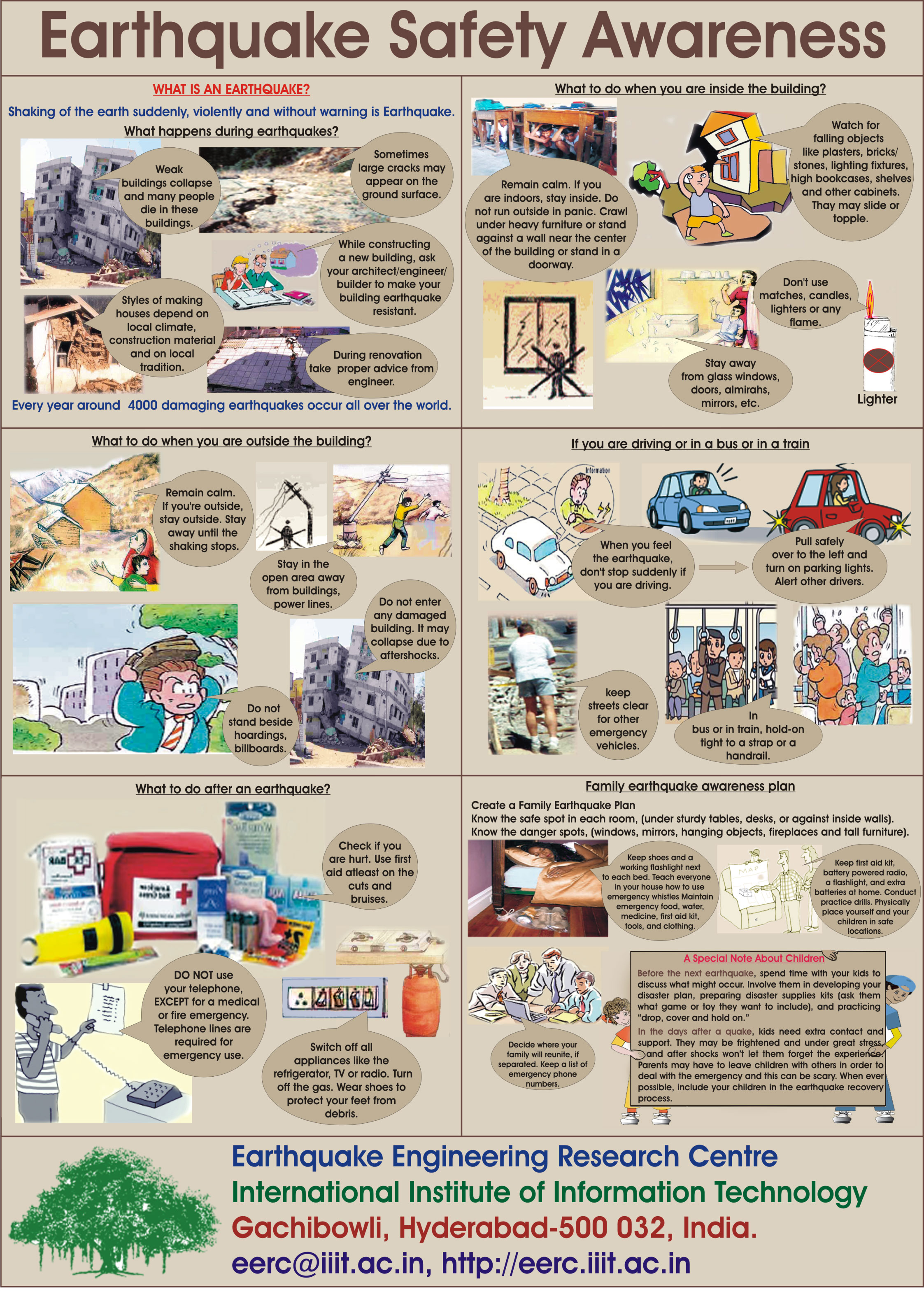 Disaster clipart earthquake safety Infographics awareness awareness Natural safety