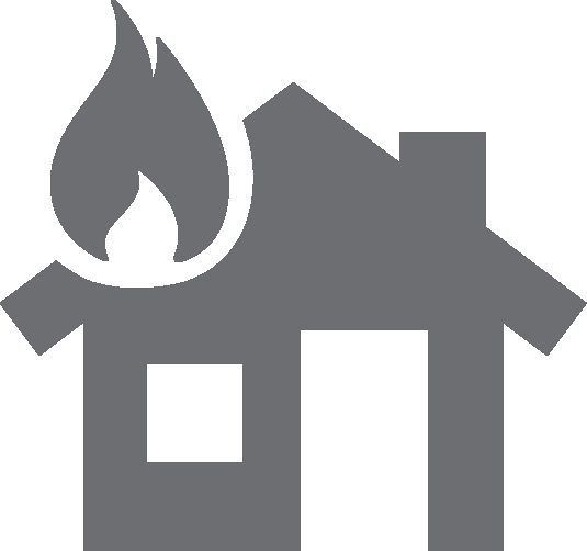 Disaster clipart home fire Neoredcross Icon Disaster 2016 January