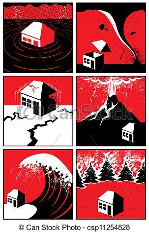 Disaster clipart natral Natural Disasters Natural of of