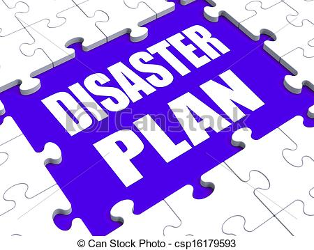 Disaster clipart recovery Danger Puzzle Plan Emergency Shows