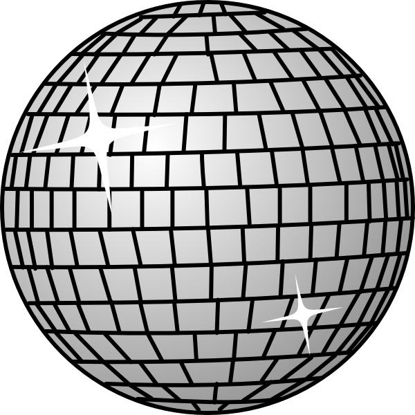 Disco clipart fete In  Open svg (