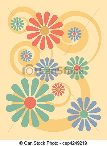Disco clipart 70 flower And Free Downloads Photo 70s