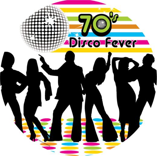Disco clipart 70's Party Stop party Party disco