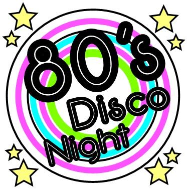 Disco clipart 80's Night Disco kkplaygroup 80's Disco