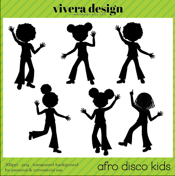 Disco clipart afro Digital Disco This Clip for