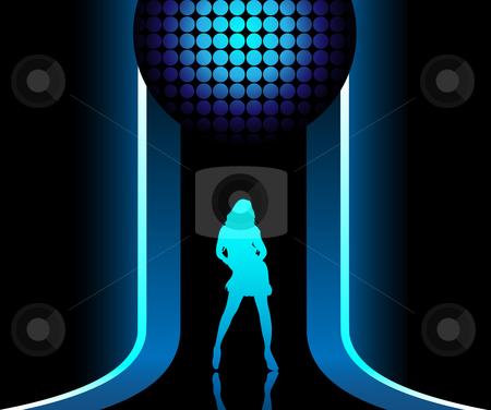 Disco clipart catwalk Blue2 Catwalk Blue2 vector Catwalk