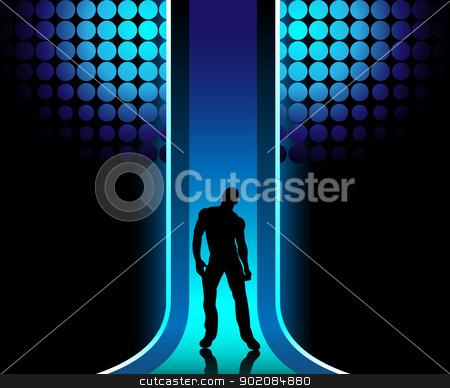Disco clipart catwalk Stock Boy Catwalk in Catwalk