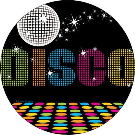 Disco clipart dance ball elegant Plates disco images party floor