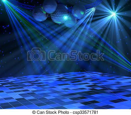 Disco clipart dance floor Illustration Dance csp33571781 Stock Floor