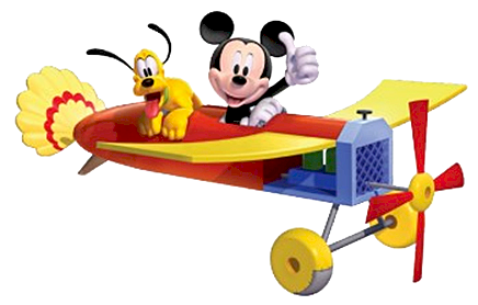Airplane clipart mickey Plane & clipart collection Pluto