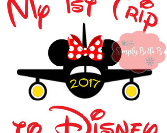 Airplane clipart disney First Transfer INSTANT Etsy Trip