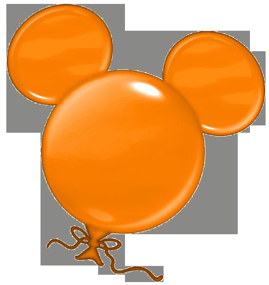 Orange clipart mouse Clipart collection balloon clipart Disney
