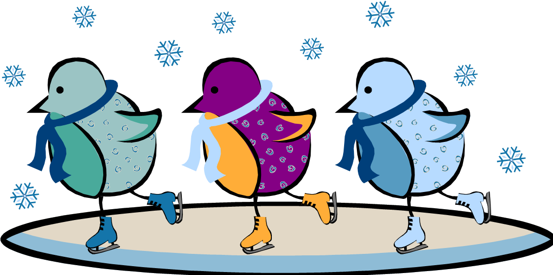 Animal clipart ice skating Clip Clipart Clipart Ice Clip