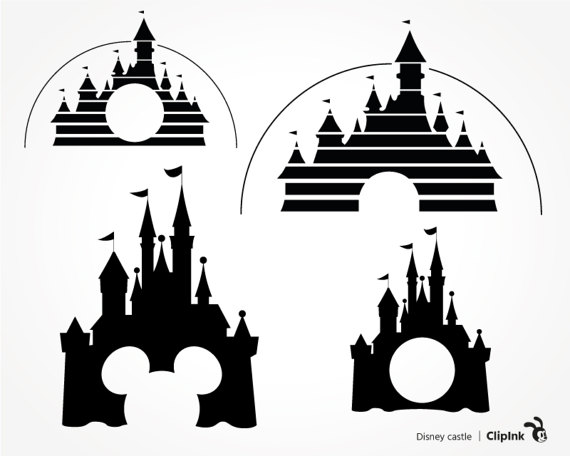 Disneyland clipart palace Svg Disney Print files Cut