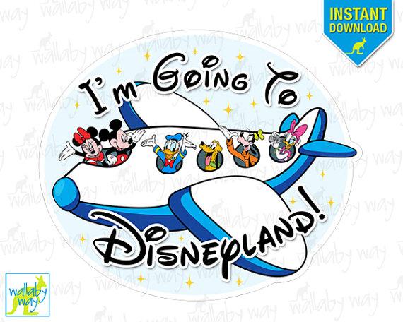 Disneyland clipart I'm Disneyland! 2015 Mickey Printable