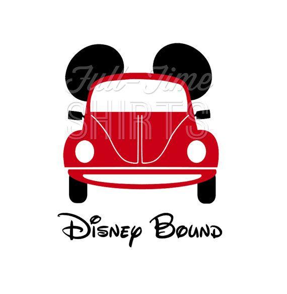Disneyland clipart disney car Disneyland Shirt Girl Decal Road