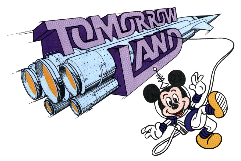 Disneyland clipart disney school Tomorrowland Clipart collection tomorrow 1989