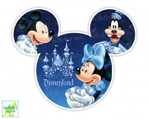Disneyland clipart disney sport Transfer Use Clip Anniversary 60th
