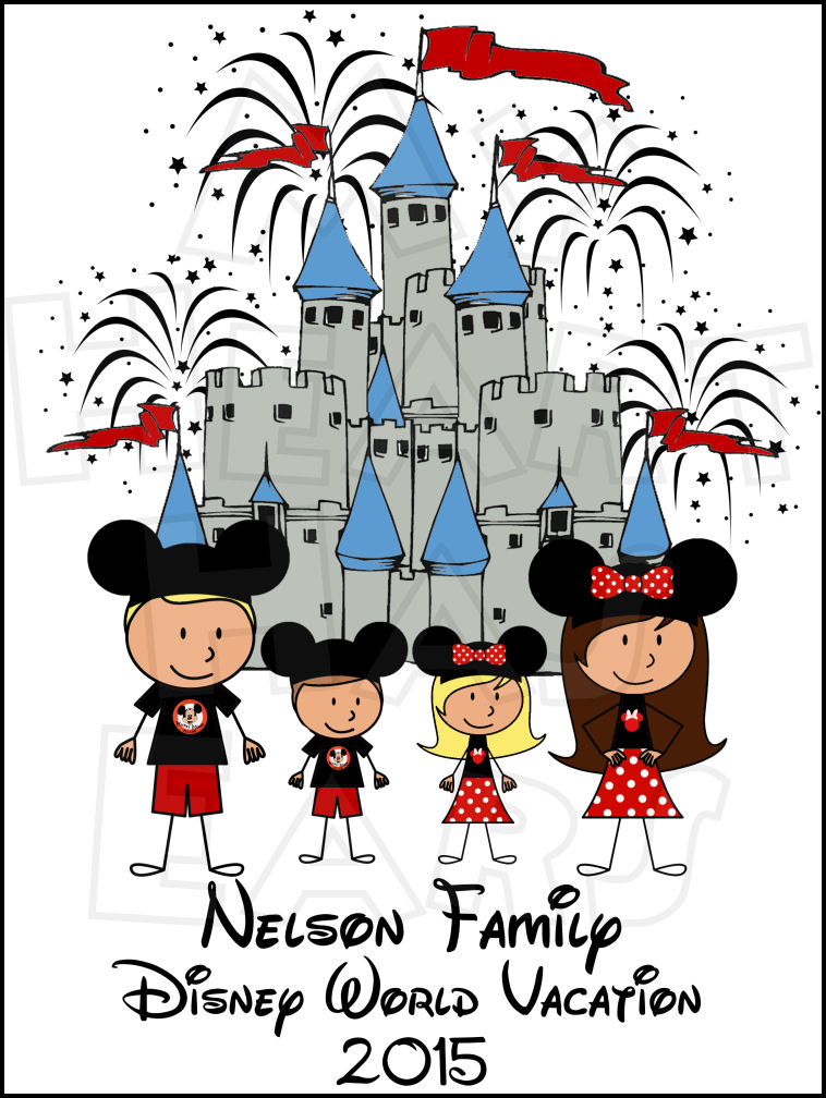 Disneyland clipart florida vacation Castle clip family World World
