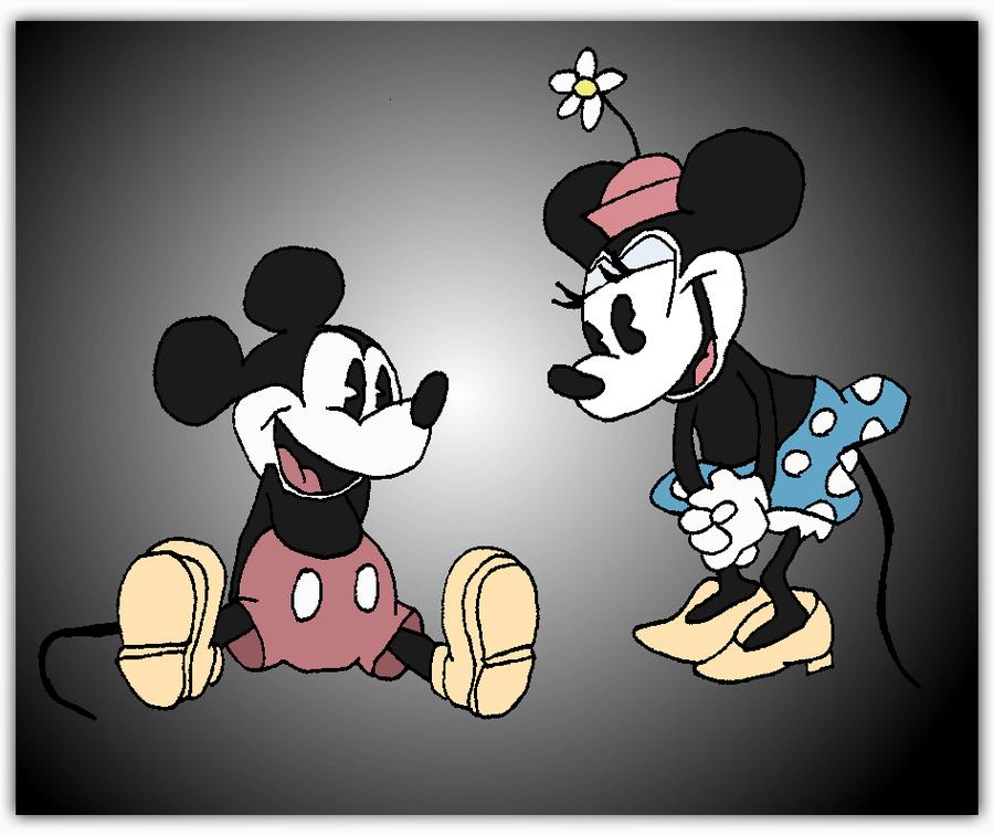 Disneyland clipart old school Friends Old by Vintage Mickey