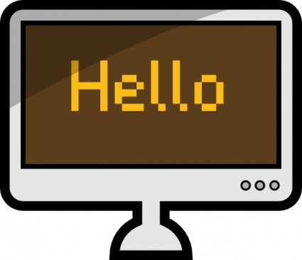 Display clipart Images Clip Monitor computer%20monitor%20and%20keyboard%20clipart Computer