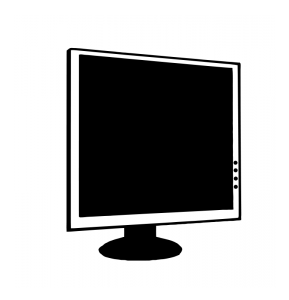 Display clipart flat screen tv 001 Display Computer LCD Clip