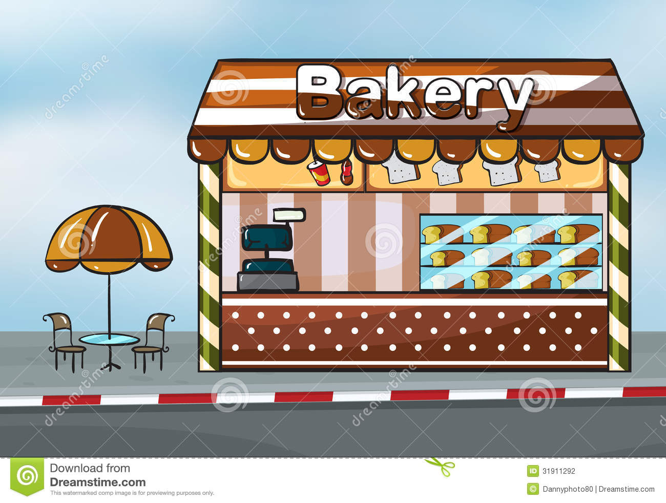 Display clipart baker Clipart Bakery Shoppe cliparts Bakery