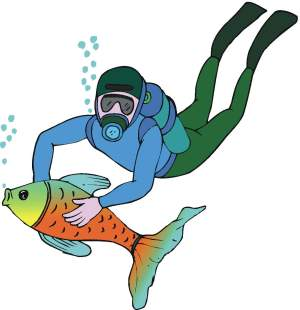 Diving clipart For Clipart In Fun clipart