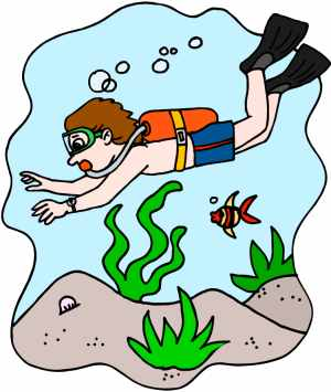 Diving clipart cartoon Diving Clipart clipart In Diver