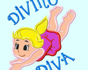 Diving clipart diva 2 Diving Diva Diving Designs